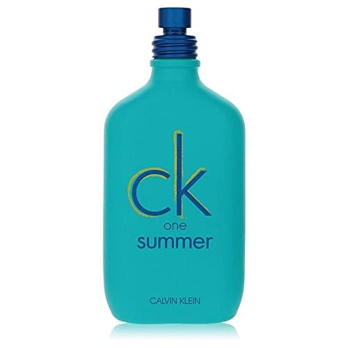 3.4 oz Eau De Toilette Spray (2020 Unisex Tester) by Ck One Summer Fragrance for Men