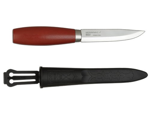 Frosts of Sweden Outdoormesser Classic No 2 Messer, Rot