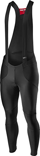 Castelli Sorpasso Ros Bibtight, Pantaloncini Ciclismo Uomo, Black, S