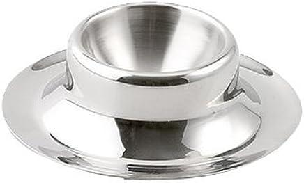 Preisvergleich für Weis Eierbecher, Edelstahl, Silber 8.5 x 8.5 x 2 cm