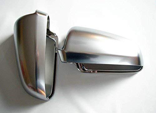 goingfast 192200901 Aluminium Design Spiegel Abdeckung Kappe Gehäuse Links+Rechts Set