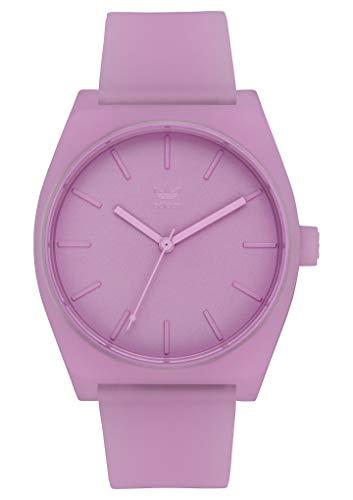 adidas Process_Sp1.Silicone Correa Relojes De Los Hombres, 20 Mm Anchura (0,38 Mm) Claro Lila Un Tamaño