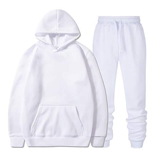 JX-PEP para Hombre del chándal con Capucha para niños Conjunto de pantalón Largo Prendas con Capucha de Deporte, Pantalones de Jersey + 2pcs,5,M