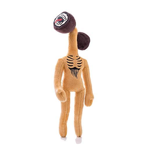 Usual Store Horror Monster Urban Legend Siren Head Plush Toys Doll Gift (Yellow)