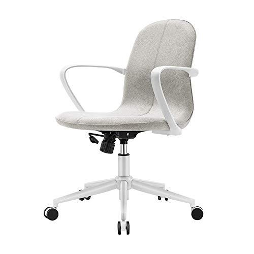QLIGAH Bürostuhl-Tisch Ergonomischer Swivel-Executive-Justierbare Task-Computer-High-Back-Stuhl Mit Rückenunterstützung