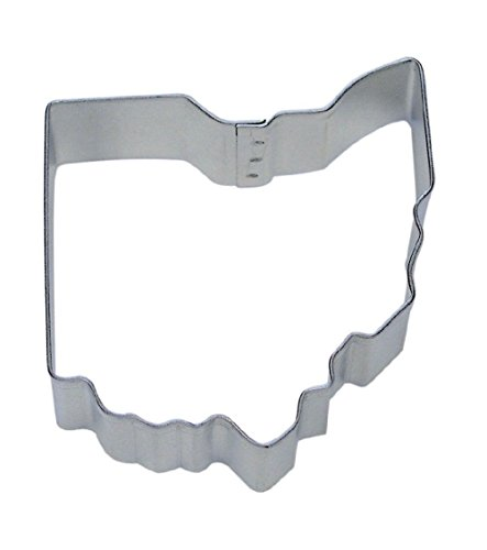 KCHEX Ohio Shape Cookie Cutter 3' Fondant Baking State Map Sugar
