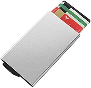 RFID Card Holder Pop Up with Slider Blocking Security Slim Wallet Case for Men and Women (Pack of 1)