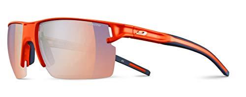 Julbo Outline - Gafas de sol para hombre, color naranja neón y azul, FR: M (talla fabricante: M)