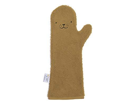 Baby Shower Glove™ Zeehond Caramel