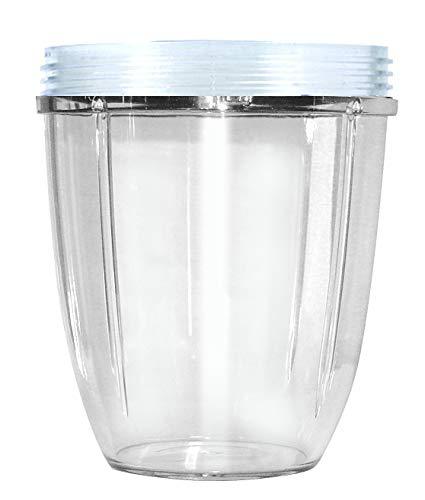 Nutribullet NBM-VE011RV Vase, kurz, transparent