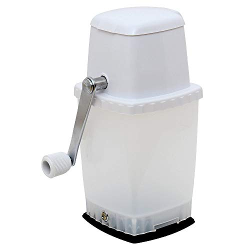Time for Treats VKP1126 Ice Crusher, Suction Base, White