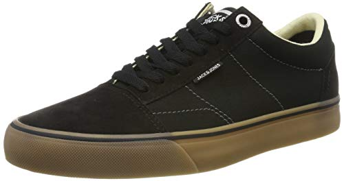 JACK & JONES Herren JFWDAX Combo Sneaker, Grau (Anthracite Anthracite), 42 EU