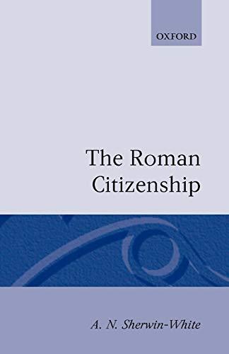 The Roman Citizenship