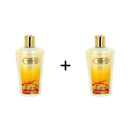 Kit 2 Cremes Hidratante Body Lotion Victorias Secret – Vanilla Lace 250ml