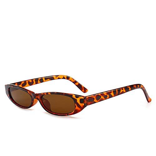 IRCATH Gafas de Sol de rectángulo de la Vendimia Las Gafas de Sol de Las Gafas de Sol de Marco pequeñas Retro Son adecuadas para el Golf, el Ciclismo, Las Gafas de Sol de Pesca se Pueden Utilizar par