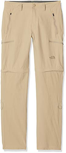 The North Face Exploration Convertible Pantalon Homme, Beige (Dune Beige), 38