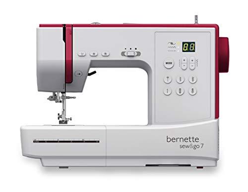 Maquina de coser Bernette SEW AND GO 7 - 80 Puntadas, PAtchwork