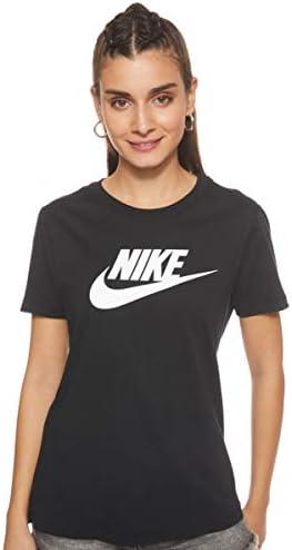 NIKE W NSW tee Essntl Icon Futura - Camiseta de Manga Corta Mujer