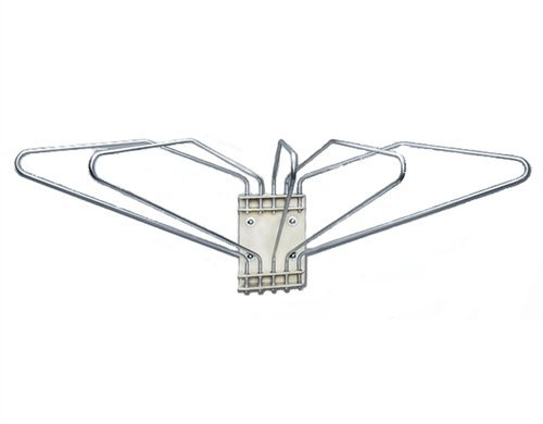 Wall Mounted X-Ray Apron Rack - 5 Arms, Right Swing