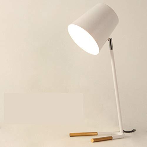 JERPOZ Lámpara De Mesa, Lámpara De Mesa Macaron Dormitorio Estudio Lectura De Ojos Estudiante IKEA Lámpara De Mesilla Moderna Minimalista Lámpara de Mesa (Color : E)