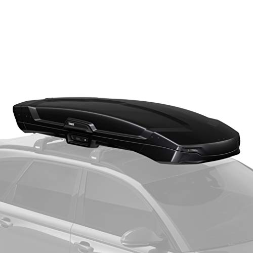 Thule Vector Rooftop Cargo Box, Alpine, Black Metallic