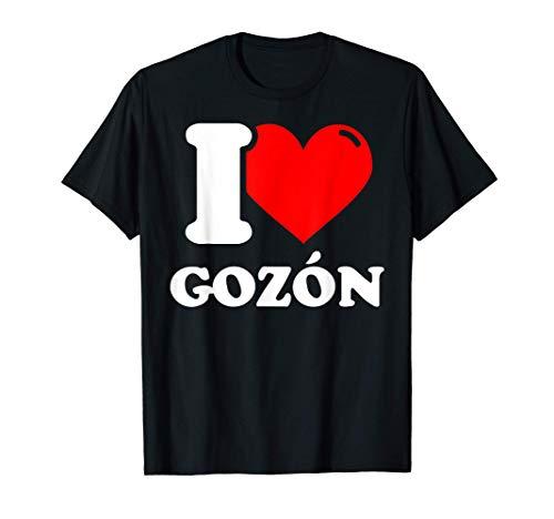 I love Gozón Camiseta
