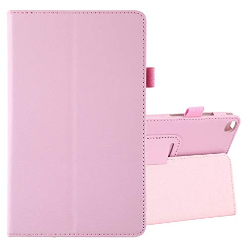 Flip Leather Tablet Case Litchi Texture Horizontal Flip Leather Case With Holder, for Galaxy Tab A8.0 T290 (Color : Pink)