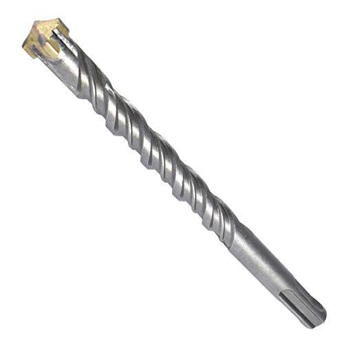 SDS Plus Bohrer 10mm Ø - Länge 10x160 mm ( Ideal zum Bohren in Beton / Naturstein / Mauerwerk, 4 Hartmetall Spitzen,für Armierungseisen geeignet)