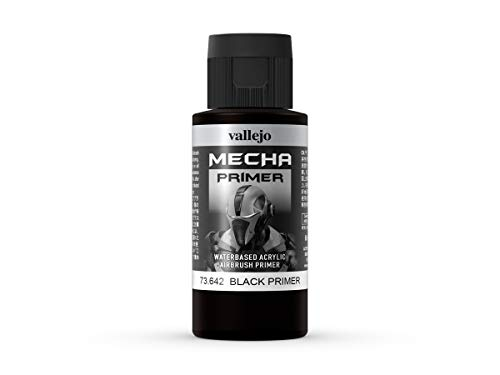 Vallejo Mecha Color Primer 73642 Black (60ml)