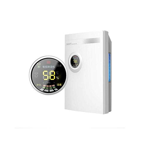 Check Out This LSYOA Home Intelligent Dehumidifier, Portable Multifunctional Quiet Dryer for Basemen...
