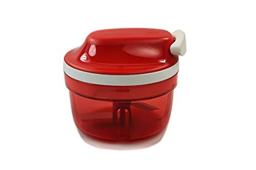 Tupperware Chef Turbo-Chef Speedy Boy - Cortador de cebolla, color rojo