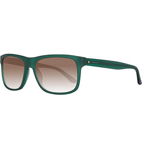 Gant Sonnenbrille Ga7041 97E 56 Gafas de sol, Verde (Grün), 56.0 para Hombre