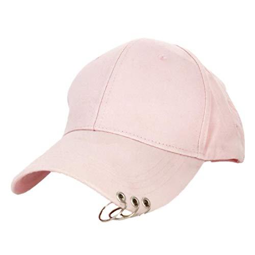 QSMIANA Gorra de Beisbol Sombrero De Béisbol Ajustable con Tapa De Sol Deportes Al Aire Libre para Mujer Hombres De Moda Snapback Hat