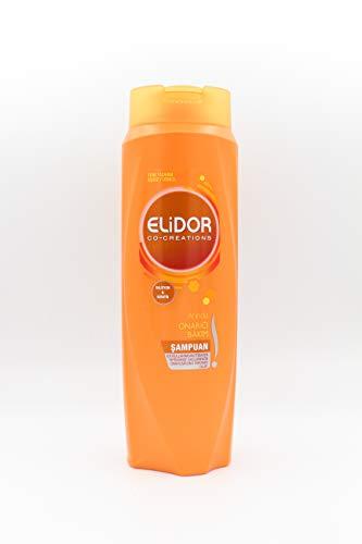 ELIDOR Co-Creations Shampoo 500ml, Intensive Haarpflege,für strapaziertes, brüchiges Haar und coloriertes Haar,Haarpflege Glanz,Beauty, Hair Shampoo, (Calzium & Keratin Shampoo 500ml)