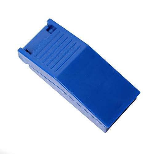 We-Ball Tragbarer Tablettenteiler für große und kleine Tabletten | Aufbewahrungsfach für 2 Tabletten | Tablettenschneider mit scharfer Edelstahlklinge | Pillenteiler | Pillenschneider | Pillentrenner