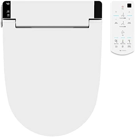 VOVO STYLEMENT VB 6000SE Electronic Bidet Seat Elongated Easy Install Heated Seat Warm Dry and product image