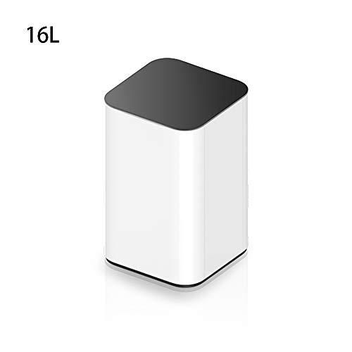 Yuanyuanliu Induktion Mülleimer elektrische Kick Kick Eimer Smart Home Badezimmer Wohnzimmer Schlafzimmer Küche automatische