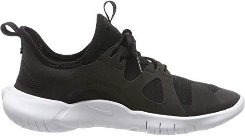 Nike Unisex-Kinder Free Rn 5.0 (Gs) Leichtathletikschuhe, Mehrfarbig (Black/White/Anthracite/Volt 000), 37 EU
