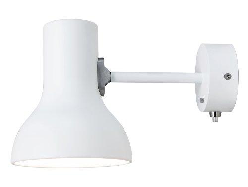 Anglepoise 31235, Lampada da Parete Type 75 Mini, Bianco (Alpinweiß)
