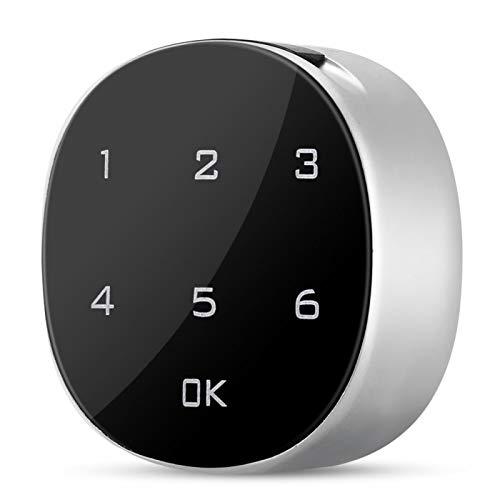 banapoy Cerradura de Seguridad para gabinete, Cerradura de Puerta electrónica, Cerradura codificada con contraseña de aleación de Zinc Digital Precisión Fuerte para gabinetes de Oficina