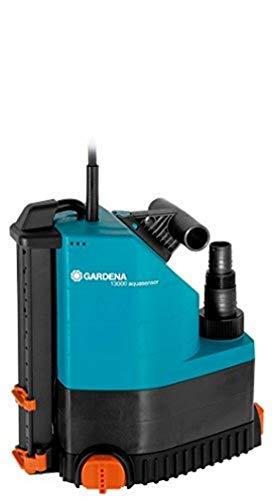 Gardena Comfort Tauchpumpe 13000 aquasensor: Fördermenge 13.000 l/h, 650 W Motor, Entwässerungspumpe mit Sensortechnik, langlebige Pumptechnik, wartungsfrei mit Universalanschluss (1785-20)