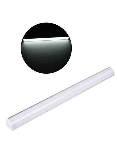 Luz de Techo,30W-60CM 2400LM luz de tubo LED, Impermeable IP64- Lámpara LED, Nikko White 6000K-6500K Lámpara de techo...