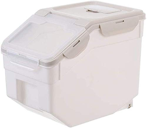 Affordable XJJ 1 pc Pet Large Capacity Moistureproof Bucket, Container Food Bucket, Food Storage Con...