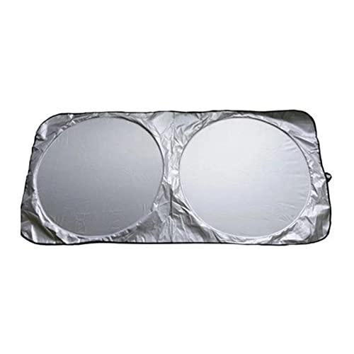 Vecksoy Parasol Coche Delantero Parasol para Parabrisas Parabrisas Protector Plegable con Gran Pantalla Anti UV Rayos Mejor Contral De Calor Multiuso Apto A La Mayoría De Coches Y Suvs