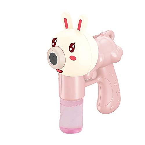 BOIPEEI Kinder Bubble Gun Spielzeug Lustige süße Pet Bubble Elektromechanische Lampe Musik Bubble Toy Outdoor Party Wasserpistole Spielzeug