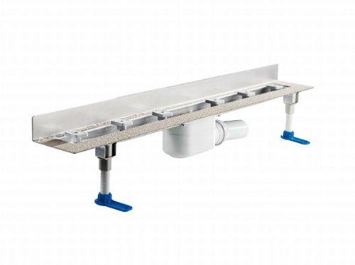 Dallmer Duschrinne CeraLine W 600mm, 520128, DN 50 Bauhöhe 110mm