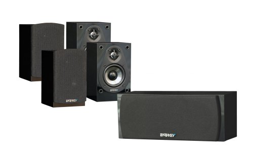 Energy Take Classic 5 Pack 5.0 Home Theater Speaker (Black) (Discontinued by Manufacturer)