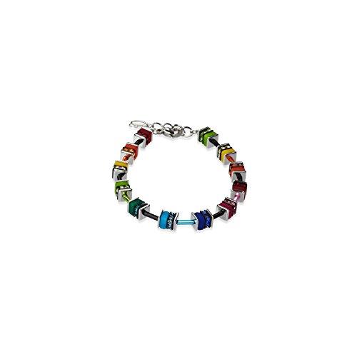 Coeur de Lion Armband 4409/30-1500 Polaris mit swarovski Kristalle und Edelstahl