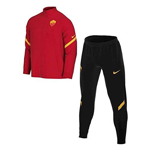 Nike ROMA M NK DRY STRK TRK SUIT K Tuta, Uomo, university red/black/university gold/(university gold) (no sponsor-plyr), M