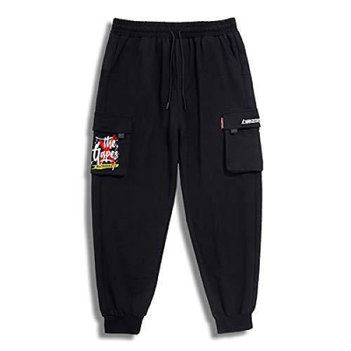 Bedruckte Jogginghose für Herren Loose Fashion Streetwear Lässige All-Match Classic Basic Cargo-Hose Alle Taillengrößen 3XL